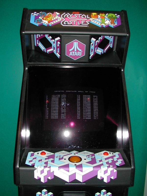 Pac Man Machine >> The Video Games Critic's Arcade Game Reviews