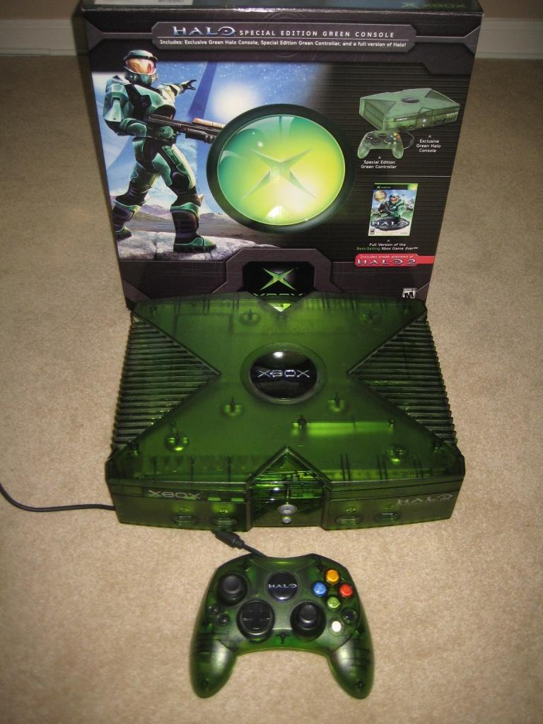 Halo 2 edition xbox console