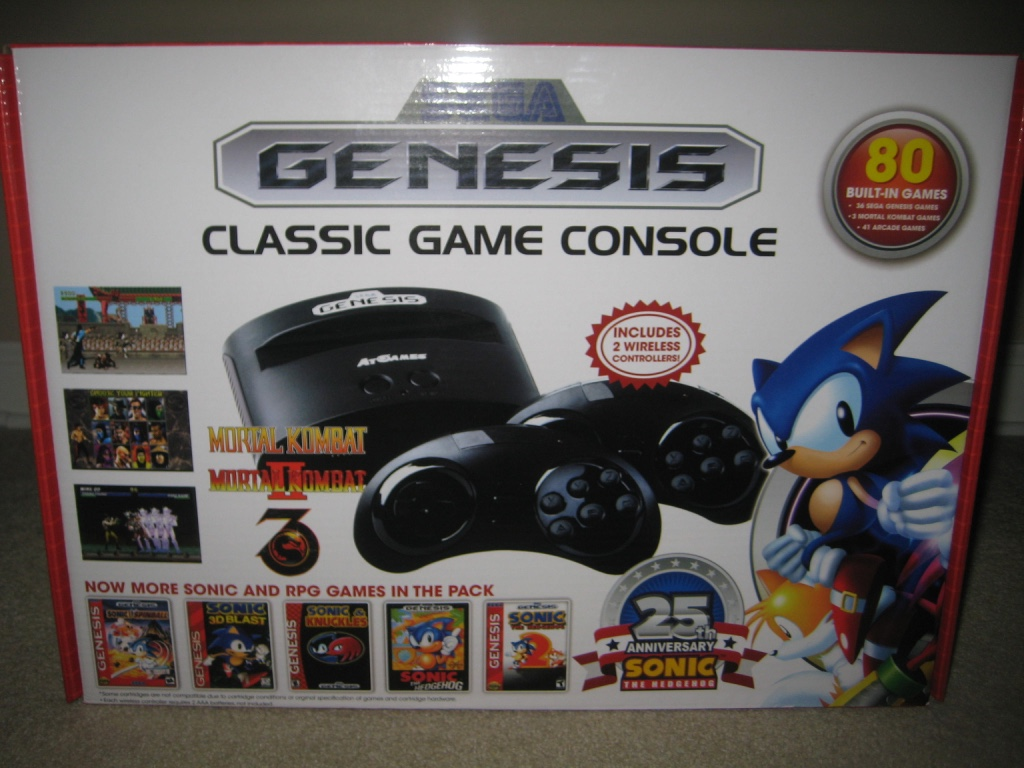 Genesis Classic Game Console 2016 Edition
