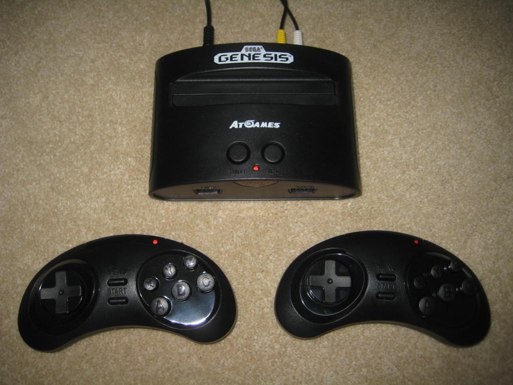 Genesis classic game console 2016 edition - Sega genesis classic game console games ...
