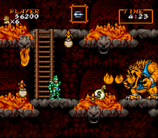 ghouls n ghosts arcade