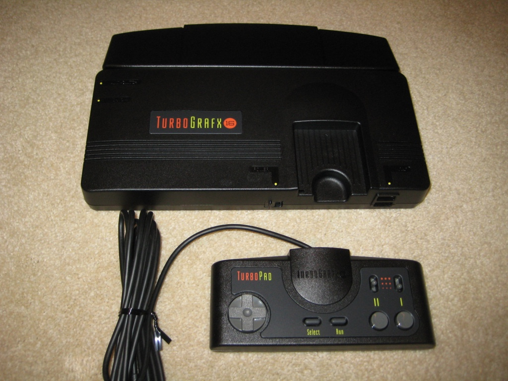 Turbografx-16 Mini system and controller