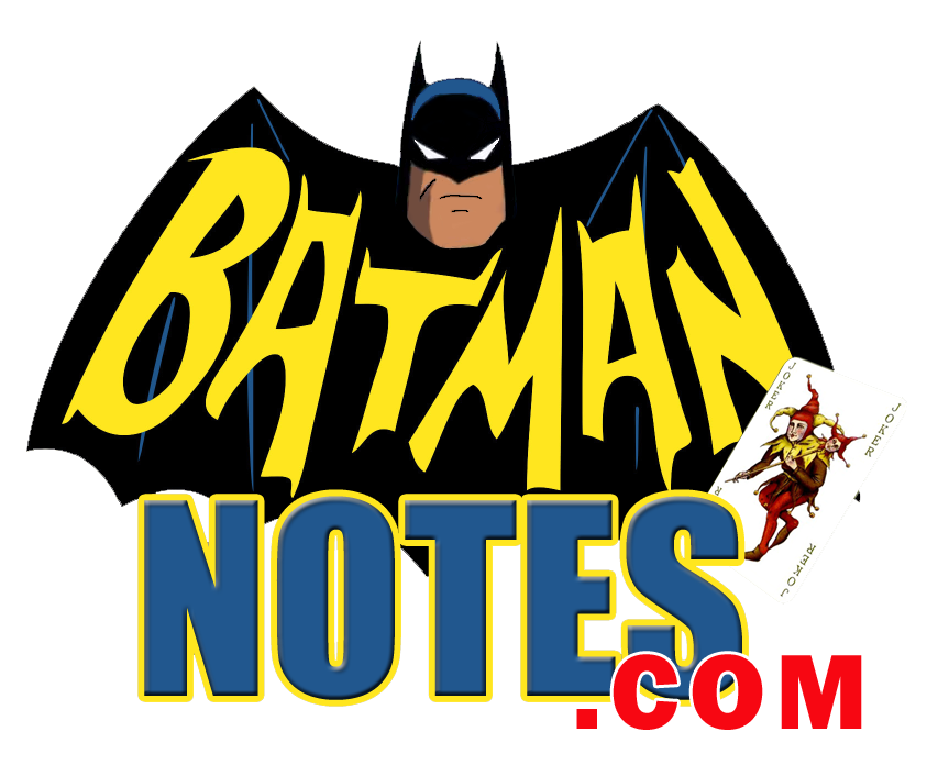 batman notes logo