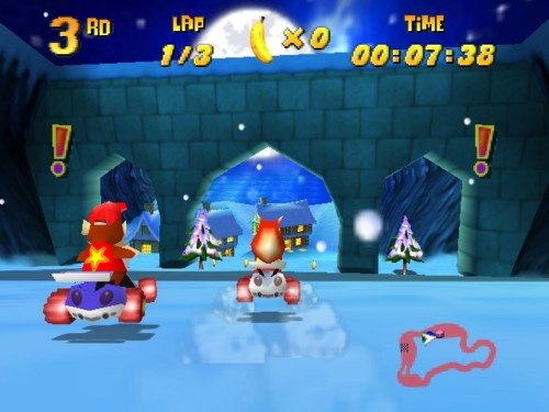 Christmas Notes: It's not a Christmas game per se, but Diddy Kong Racing's
