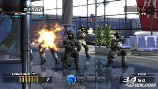 لعبة ضرب النار والاكشن Time Crisis ps1 بدون برامج بحجم 17 ميجا