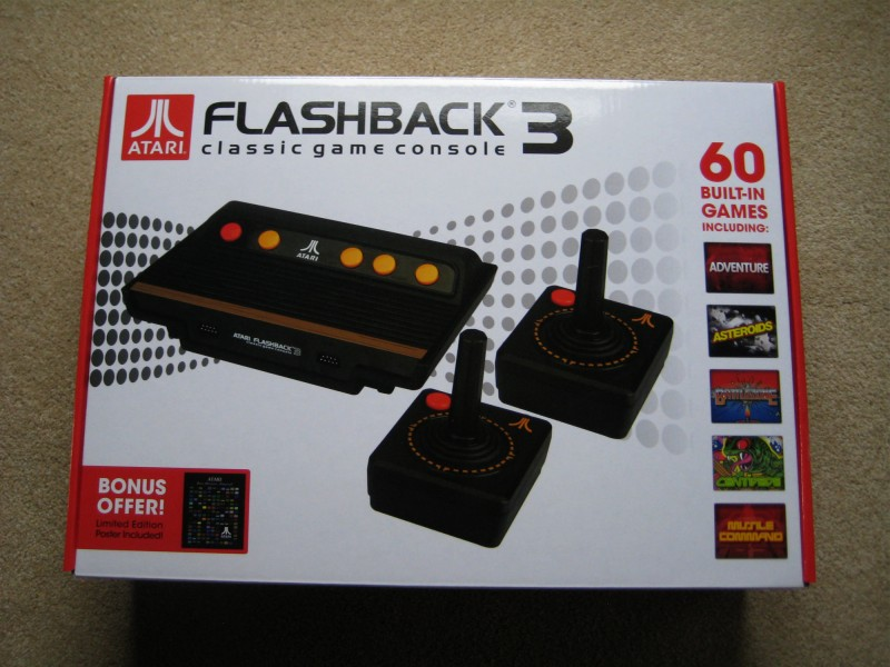 Atari flashback 3 review - Atari flashback 3 classic game console ...
